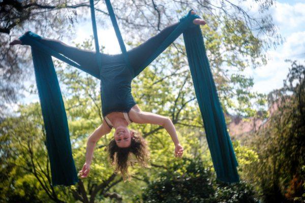 Aerial Silk with Jacqueline in Graz, Steiermark, Austria